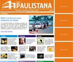 Revista Paulistana website by GuillermoMila