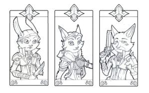 Card Collection I Preview by 7THeaven