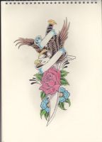 Eagle, Rose and Dagger by Stephen-Parry