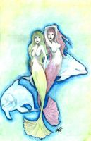 Mermaid Dance by Sarah-Maxine