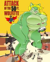 Attack Of The 50ft Wolfette is Available by GreyOfPTA
