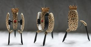 Animal King Turret Sculpture by HypnoticAlien