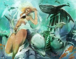 2010 Queen of Atlantis by Vandrell