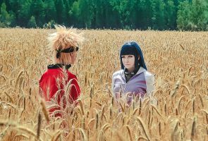 Naruto and Hinata cosplay by Setor