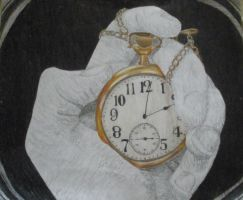 Pocket watch by Hihakuchi