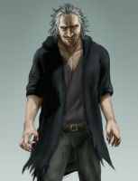 Fenrir Greyback by Mafer