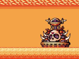 Wily Marine Fortress Gameboy by abonny
