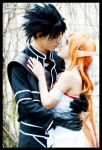Kirito and Asuna ALfheim cosplay by AstronSama