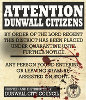 Dunwall Quarantine Poster by Party9999999