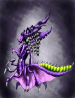 Zerg Queen by Deadguybeer