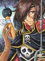 Captain Harlock by Aiko-Mustang