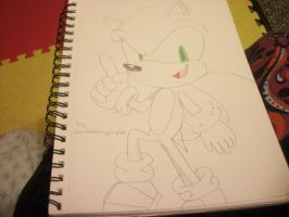 sonic the hedgehog by sonicandamyareawesom