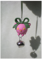 Hoppip ornament by Foureyedalien