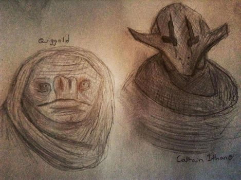 Ithano and Quiggold by Kovecs