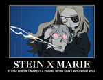 .:.Soul Eater Stein and Marie.:. by The-fandom-alchemist