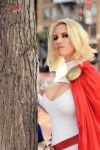 AZ Powergirl and Tree SDCC 2015 by AzPowergirl