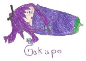 Gakupo In a Eggplant Colored by jenchan11