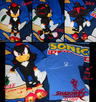 Large_Shadow plush by f-sonic