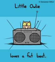 Owlie Loves a Fat Beat v.2.0 by sebreg