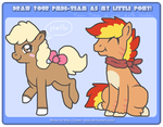 PMD-E Meme - Team Jolly Clowns as ponies by Phewmonster