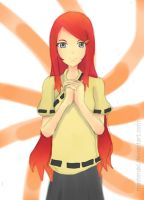 Young Kushina Uzumaki, Wielder of the Nine Tails by MasterAki