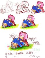 How I color they by ahaaha123