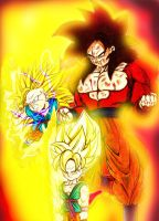 Legends of Goku by ERIC-ARTS-inc