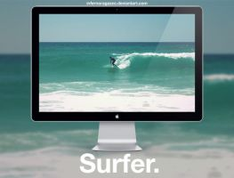 Surfer x HD Wallpaper by infernoragazzo