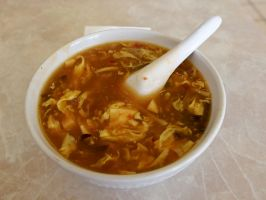 China Inn Test - Hot and Sour Soup by sakaphotogrfx
