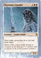 Magic Card Alteration: White Walker Crusader by Ondal-the-Fool