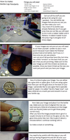 Bottle Cap Pendant Tutorial by RarasJewels