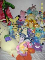 Pokemon Plush Collection Close-up A by kratosisy