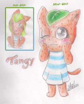 Tangy the Orange Cat (Rewind) by YourSuperHeroine