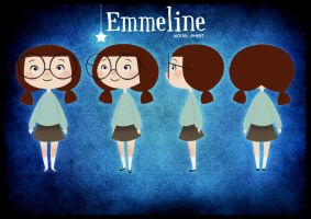 Model Sheet - Emmeline by StaceyRobson