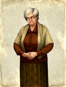 Character, Grandmother by Sundra-Art