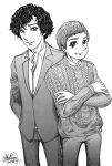 Sherlock and John by MimiMarilyn