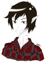 Marshall Lee The Vampire King :D by ButterflyInMaze