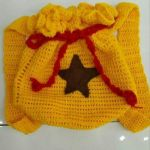 Crocheted Animal Crossing Backpack :FOR SALE: by astronauut