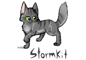 Stormpaw for a sketchfu app by SoulCats