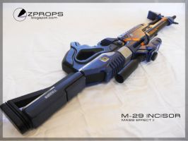 Mass Effect M-29 Incisor by zanderwitaz