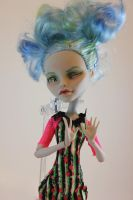 Rollermaze Ghoulia Repaint by FeralWorks