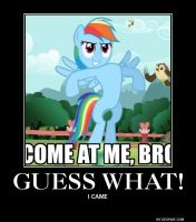 another rainbow dash demotivational by aruon
