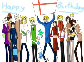 APH: Happy Birthday Arthur by girlyanimegal