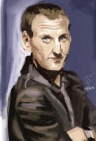 ninth doctor by doodler14
