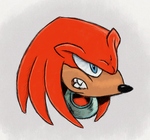 Knuckles, Richard Elson inspired by Hewison