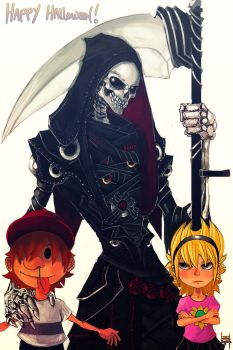 The Grim Adventures of Billy and Mandy by xluxifer