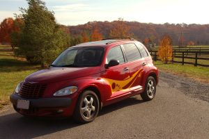 PT Cruiser love by wickedlady