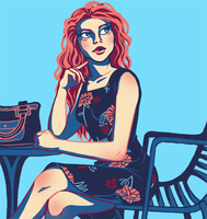 Lydia Martin - color palette challenge by MidoriEyes