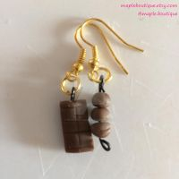 Bar And Truffles Earrings by mapleboutique