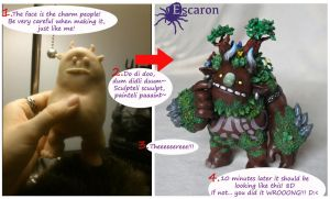 Tutorial: 4 easy steps to sculpt your troll! 8D by Escaron